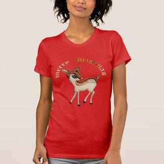 T-shirt Renne de Noël