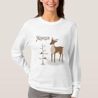 T-shirt Renne de vacances d'Ahimsa