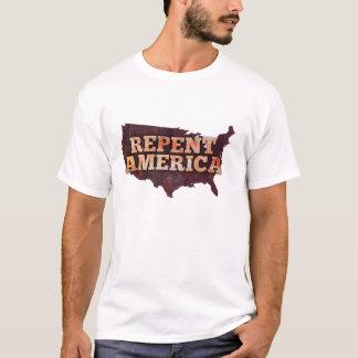 T-shirt Repentissez-vous l'Amérique