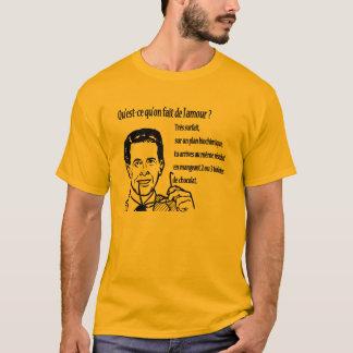 T-shirt réplique humour / amour