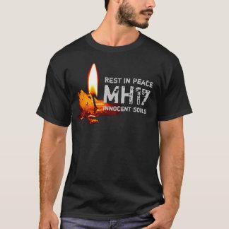 T-shirt Repos dans la paix MH17 (w/Candle)