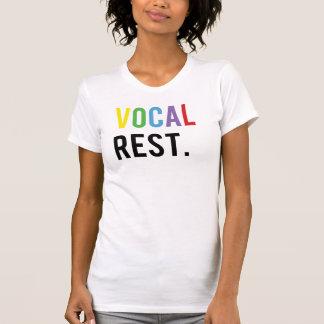 T-shirt Repos vocal - casquettes colorés