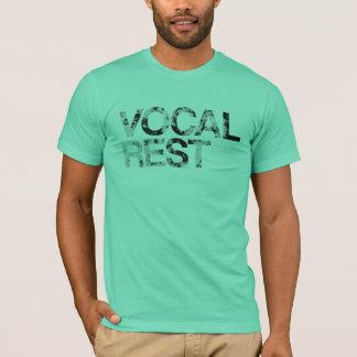 T-shirt Repos vocal - lettres texturisées