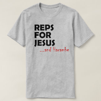 T-shirt Reps pour Harambe