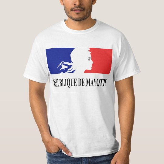 T-SHIRT REPUBLIQUE DE MAYOTTE