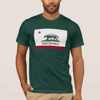 T-shirt République du blaireau de miel DGAF la Californie