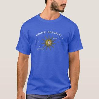 T-shirt République Key West de conque