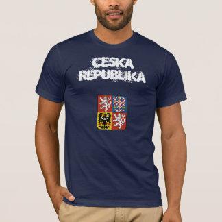 T-shirt République Tchèque Ceska Republika avec le manteau