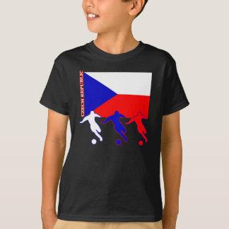 T-shirt République Tchèque du football