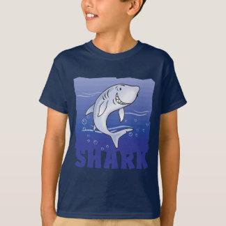T-shirt Requin amical d'enfant
