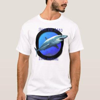 T-shirt Requin de Mako court d'aileron