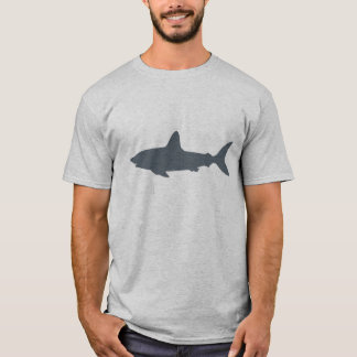 T-shirt Requin gris de natation