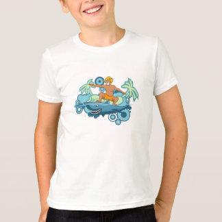 T-shirt Requin surfant