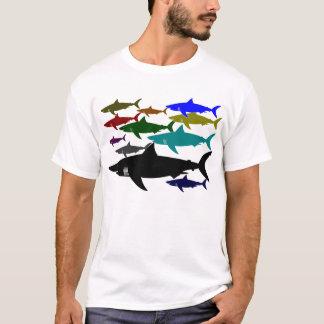 T-shirt Requins/T-shirt 3 de scaphandre