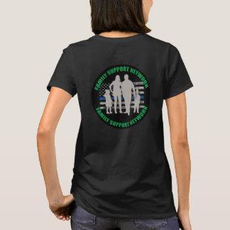 T-shirt Réseau -2 de soutien de famille