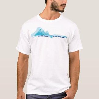 T-shirt Réseau du nord d'électeur de vallée
