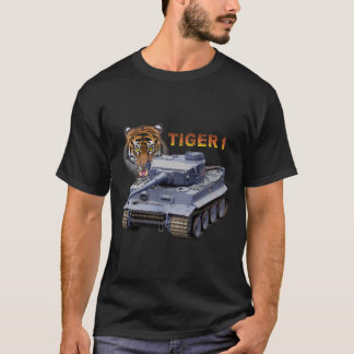 T-shirt Réservoir allemand du tigre 1
