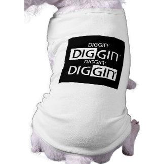 T-shirt Réservoir d'animal familier de DIggin DIggin