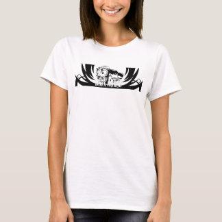 T-shirt Réservoir de blanc de cheval de fer