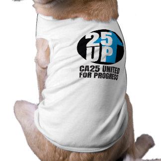 T-shirt Réservoir de chien de CA25UP