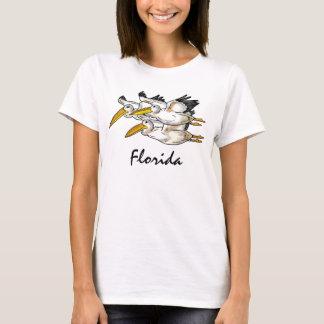 T-shirt Réservoir de dames de pélicans de la Floride