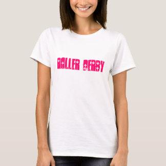 T-shirt Réservoir de Derby de rouleau