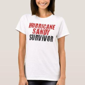 T-shirt Réservoir de spaghetti affligé par survivant de