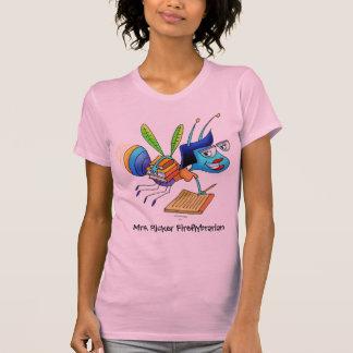 T-shirt Réservoir-dessus-Mme. Clignotement Fireflybrarian