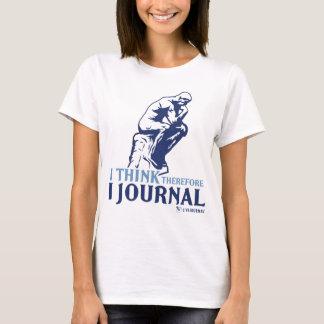 T-shirt Réservoirs de dames (je pense, par conséquent