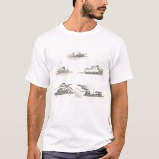 T-shirt réservoirs de réservoirs de réservoirs