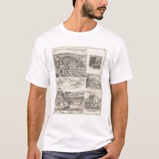 T-shirt Résidence du défunt Dr. Seth Hobbs Washington Co