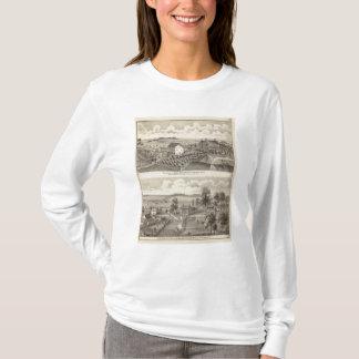 T-shirt Résidence et résidence de ferme dans la magnolia