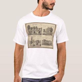 T-shirt Résidences dans Linn et Desoto, Dallas Co, Iowa