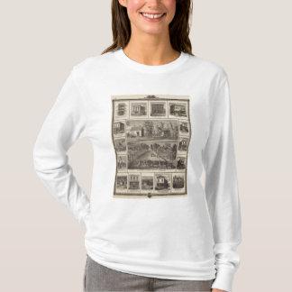 T-shirt Résidences et entreprises dans Muscatine