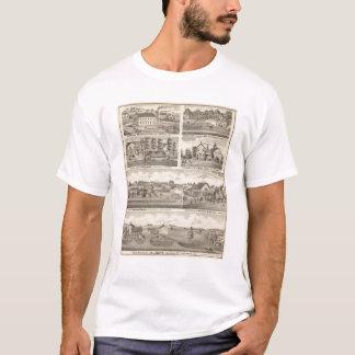 T-shirt Résidences, fermes et usine, Vandalia, Sandoval