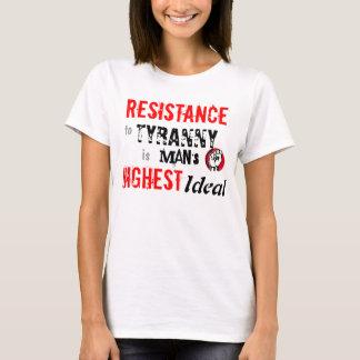 T-shirt RÉSISTANCE à la tyrannie