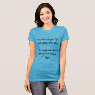 T-shirt résistez à la tempête