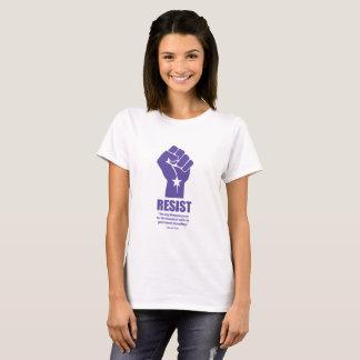 """T-shirt Résistez : """"La seule chose nécessaire pour… """""""
