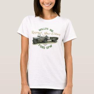 T-shirt Respect du mb GPW vos aînés - dames