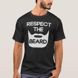 T-shirt Respectez la barbe