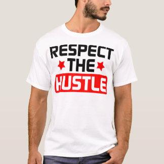 T-shirt Respectez la hâte - multipliée