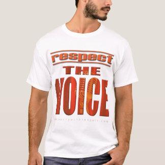 T-shirt Respectez la voix