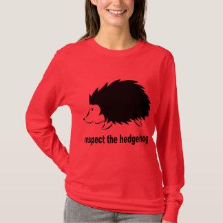 T-shirt Respectez le hérisson