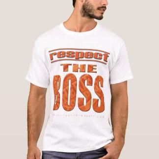 T-shirt Respectez le patron