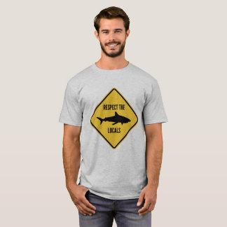 T-shirt Respectez les gens du pays