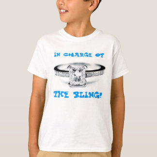T-shirt Responsable du Bling