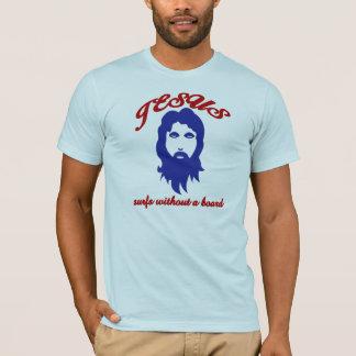 T-shirt Ressacs de Jésus sans planche de surf