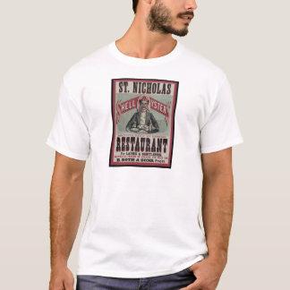 T-shirt Restaurant d'huître de Shell