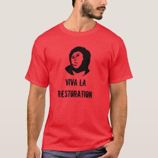 T-shirt Restauration de La de vivats - fresque d'ecce homo