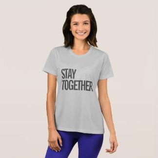 T-shirt Restez ensemble la chemise de la séance